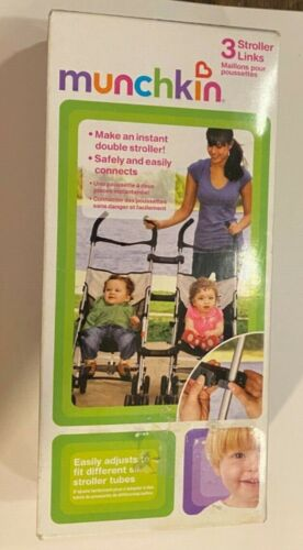 Makes two Single Strollers Into Double Stroller. Munchkin 3 Stroller Links