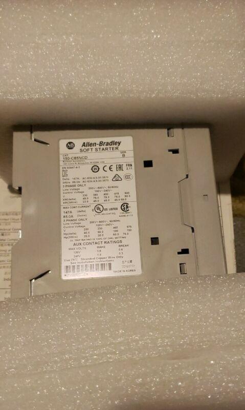 Allen Bradley Soft Starter 150-C85NCD SerB