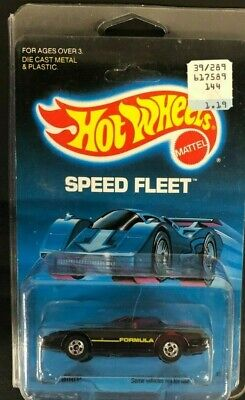 Hot Wheels '80's Firebird Speed Fleet Series #5128 NIP Black   1571