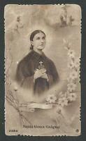 Estampa Antigua De Santa Gema Galgani Santino Holy Card Image Pieuse -  - ebay.es