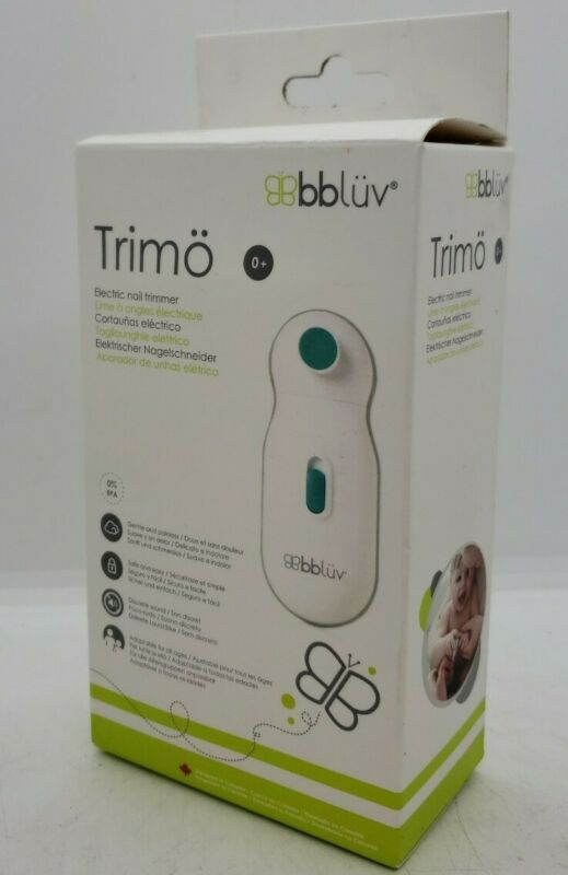 New BBLUV Trimo Electric Nail Trimmer 0-12 Months+ (B29)