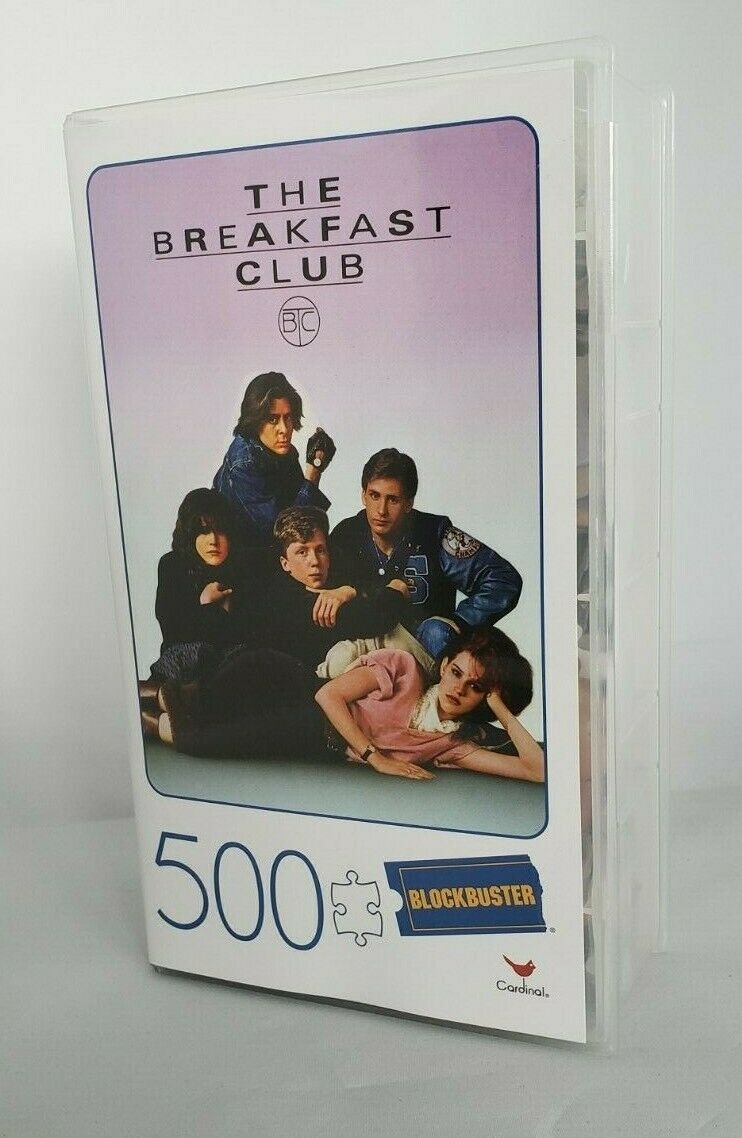 BLOCKBUSTER PUZZLE MOVIE POSTER 500 PIECE The BREAKFAST CLUB