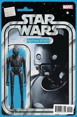 STAR WARS ROGUE ONE CASSIAN & K2SO SPECIAL 1 J CHRISTOPHER ACTION FIGURE VARIANT
