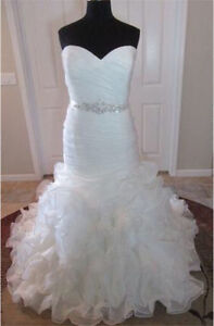 Allure Bridal style# W353 wedding dress  never worn or altered