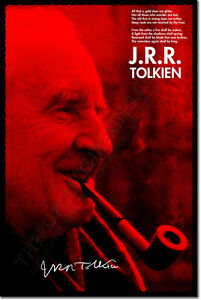 JRR-TOLKIEN-SIGNED-ART-PHOTO-PRINT-2-AUTOGRAPH-POSTER-GIFT-J-R-R-QUOTE