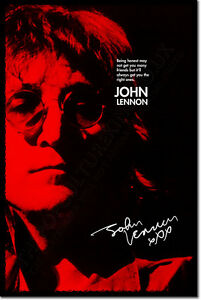 JOHN-LENNON-SIGNED-ART-PHOTO-PRINT-2-AUTOGRAPH-POSTER-GIFT-FRIENDS-QUOTE