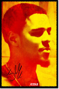 J-COLE-SIGNED-ART-PRINT-PHOTO-POSTER-AUTOGRAPH-GIFT-BORN-SINNER