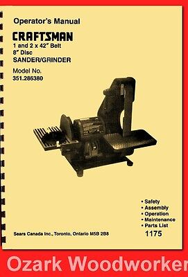Sander Parts   Owner's Guide to Business and Industrial
