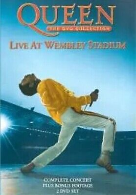 Queen - The DVD Collection: Live At Wembley Stadium (DVD, 2-Disc Set) *Fast Post