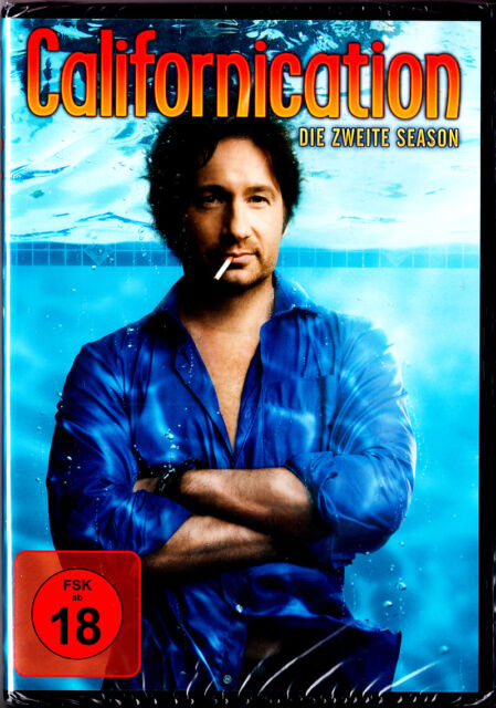 """DVD - neu & ovp - """" CALIFORNICATION - Die zweite Season ( Staffel 2 ) """""""