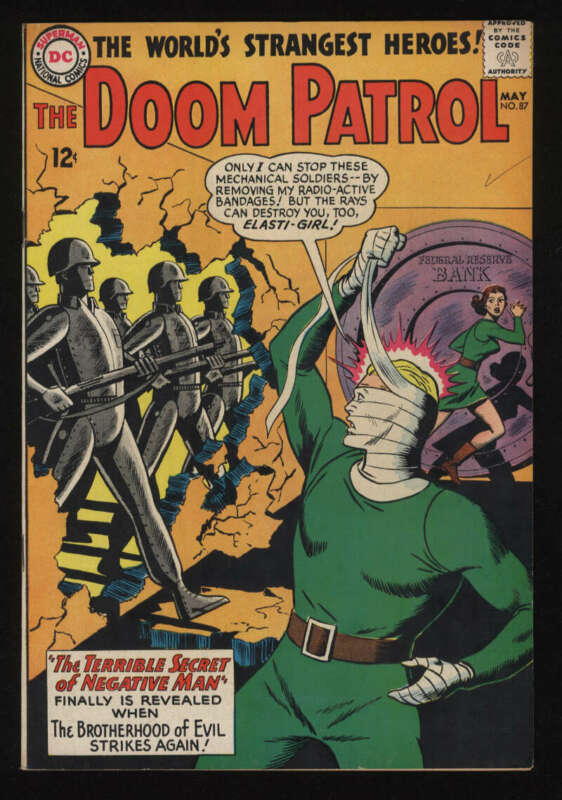 Doom Patrol #87 Fine 6.0 OW Pgs DC Comics