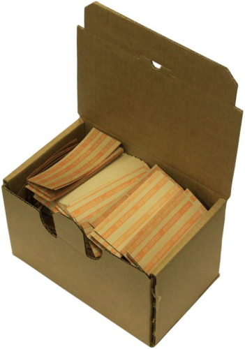 The Coin-Tainer Co. Flat Coin Wrappers, Quarter, 1000 Count 30025  - $9.50