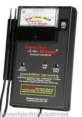 Capacitor Wizard Cap1b In-circuit Esr Meter New