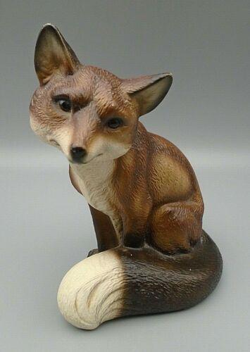 """Vintage Fox Figurine 6"""""""