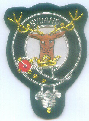 Royal UK Scottish Scotland Clan Gordon Crest Heraldry Family Name Arms COA Patch
