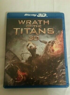 WRATH OF THE TITANS (3D & 2D Blu-Ray/DVD,