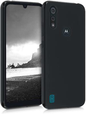 Para Motorola Moto E7i Alimentación, Funda Silicona Móvil + 1X Vidrio Templado
