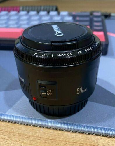 Canon EF 50mm f/1.8 II EF Lens USED