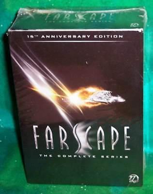 NEW RARE OOP FARSCAPE 15TH ANN COMPLETE SERIES 88 EPISODES 27 DISC TV DVD SET