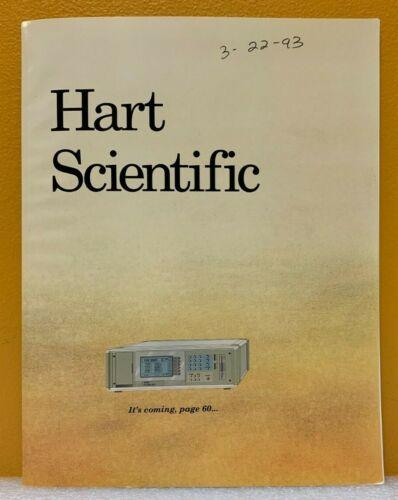 Hart Scientific Temperature Calibration Equipment Catalog.
