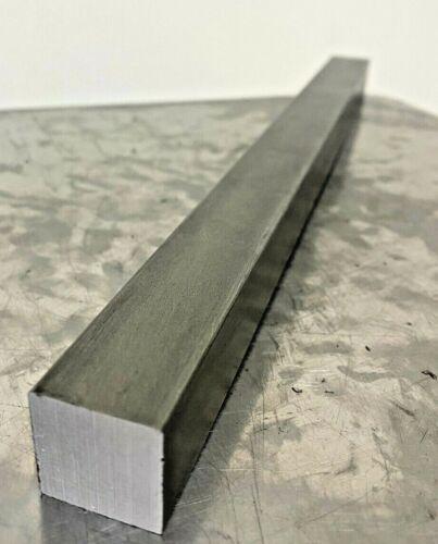 "12L14 Square Carbon Steel Bars, 7/8"" Square x 1 Ft Length"