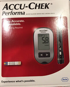 Accu chek performa blood glucose monitor Bonner Gungahlin Area Preview