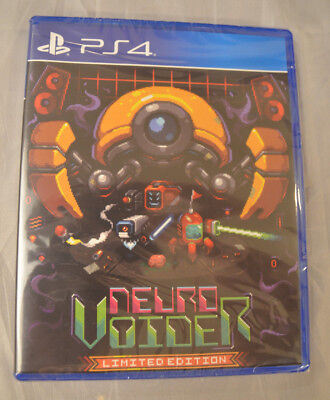 NeuroVoider Limited Edition Sony PLaystation 4 PS4 Limited Run Games LR-P44 New