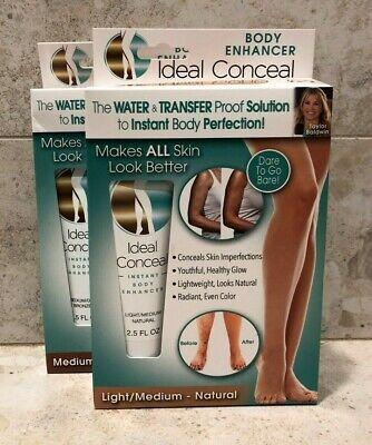 IDEAL CONCEAL~ Body Enhancer ~ Choose your Shade ~ Bronzer~Makeup Cream
