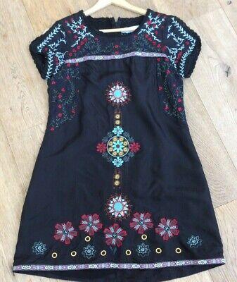 Jovonna London Embroidery Shift Dress Size Small