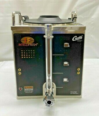 New Wilbur Curtis Gemini 1.5 Gallon Satellite Dispenser With Intellifresh