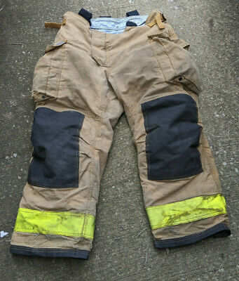 Sperian Firefighter 4028 Pants Bunker Turnout Gear Morning Pride Suspenders