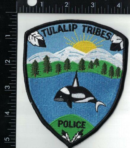 Tulalip Tribes Police WA Washington Police Patch