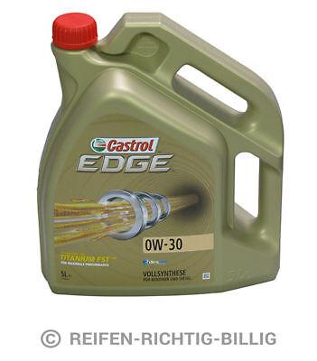 Castrol Motoröl Castrol Edge Titanium FST 0W-30 5 Liter 5L