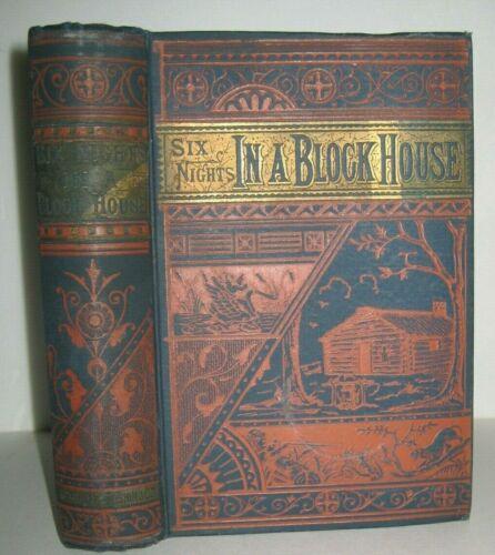 ANTIQUE BOOK 🔥 AMERICAN FRONTIER PIONEER_OLD WEST_DANIEL BOONE_INDIAN MASSACRES