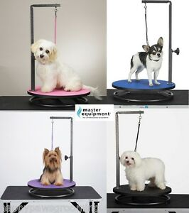 Master Equipment Round Rotating Small Pet Dog Cat Grooming
