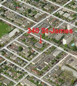 James Bay - Monthly Parking For Rent -  340 St. James St.