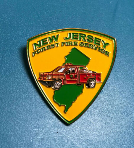 New Jersey Forest Fire Service NJ Parks & Forestry Lapel Pin