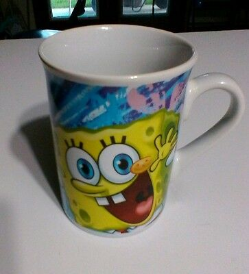 SPONGEBOB AND PATRICK MUG Spongebob Squarepants And Starfish NICKELODEON CUP (Spongebob Cup)