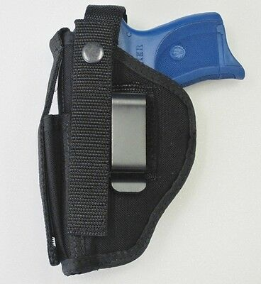 Gun Holster Hip Belt For S&w M&p Shield 9mm & 40 Caliber Built-in Mag Pouch