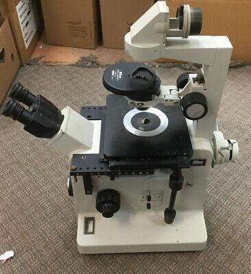 Nikon Diaphot Microscope Phase Contrast 2 Ewld 0.3 W Lamp House