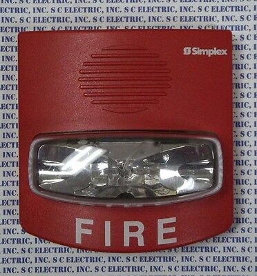 Simplex 4904-9331 Fire Alarm Strobe - Red