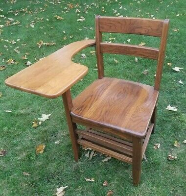 Old Wooden Office Chair Off 57, Vintage Wooden School Desk And Chair