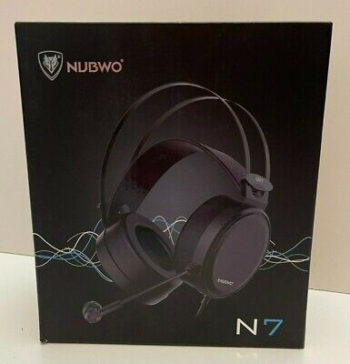 NUBWO Gaming Headset PS4 N7 Stereo Xbox One Wired PC Headphones NEW IN BOX