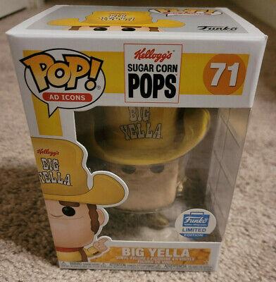 Funko Pop! Ad Icons Big Yella Sugar Corn Pops Funko Shop Exclusive w/ Protector