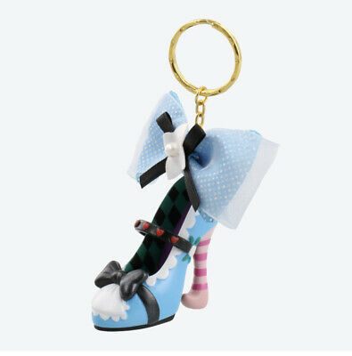 Pre-Order Tokyo Disney Resort Key Chain Princess Shoe Alice In Wonderland