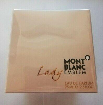 Lady Emblem by Mont Blanc Women's 2.5oz / 75ml EDP - New In Box