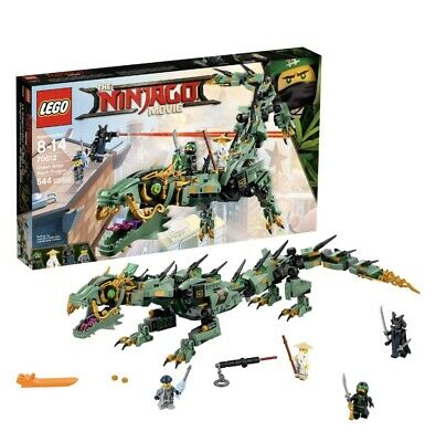 Lego Ninjago Movie Green Ninja Mech Dragon 544pcs (70612 )