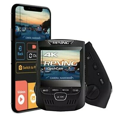 Rexing V1 FHD 1080p Wi-Fi Wide Angle Car Dash Camera