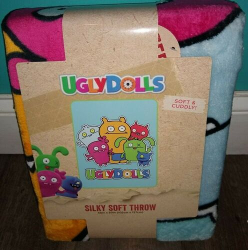 Ugly Dolls silky soft throw blanket