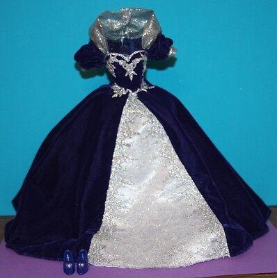 1999 Millennium PRINCESS Barbie COMPLETE FASHION Excellent! ~No Doll